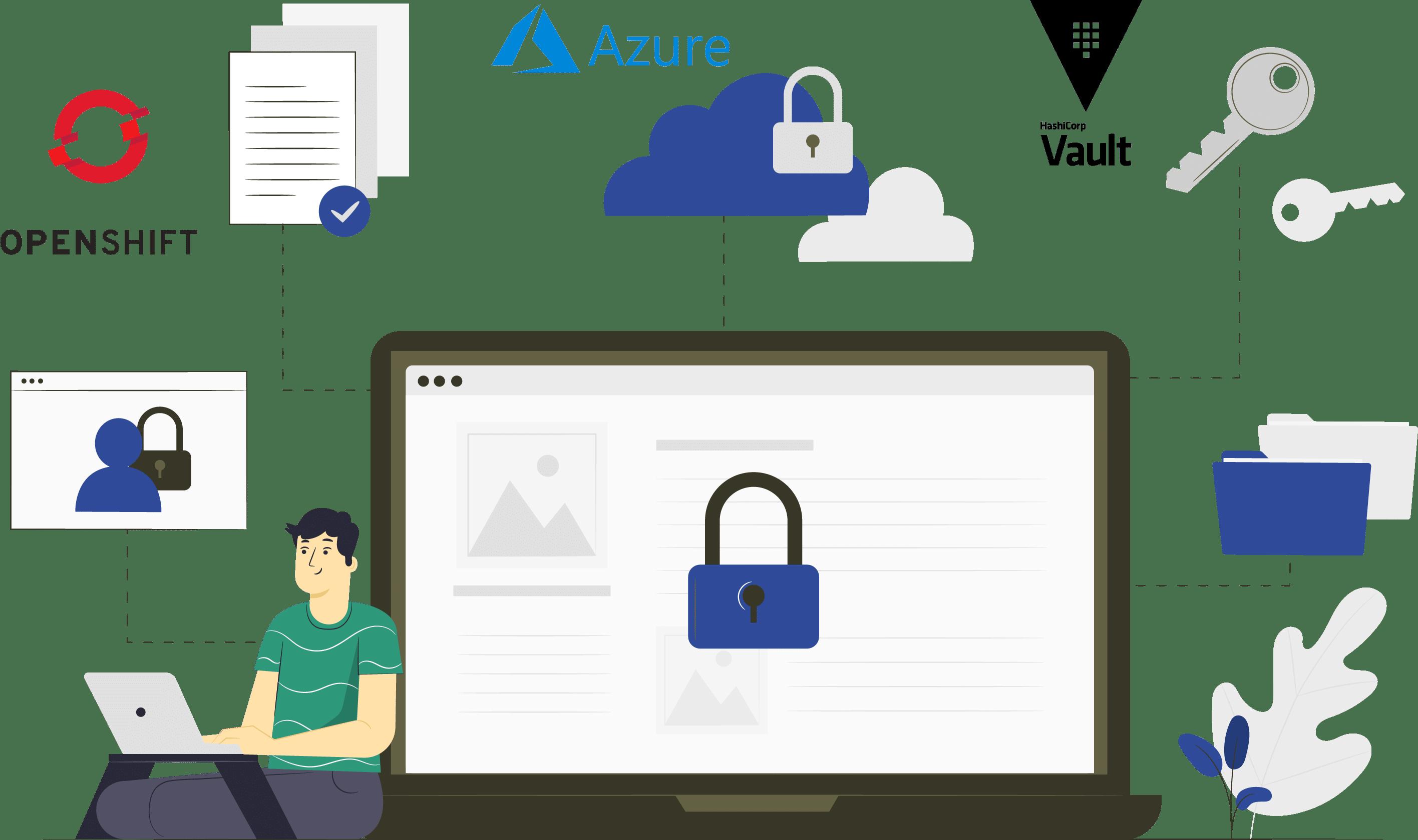 Illu_SecureCloudVaultOSAzure